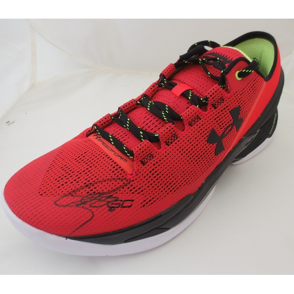 Stephen Curry Autographed Under Armour Signed Basketball Shoe JSA COA 1