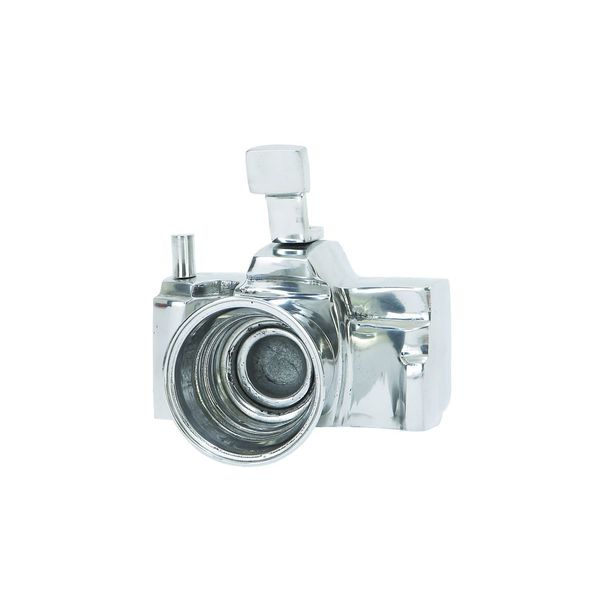 Silver-colored Metal Camera Replica