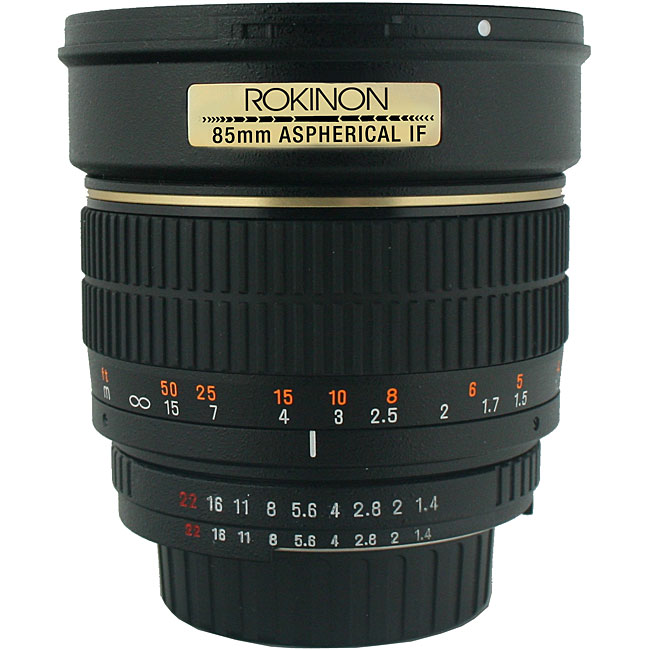 Rokinon 85mm f/1.4 Portrait Lens for Pentax Cameras