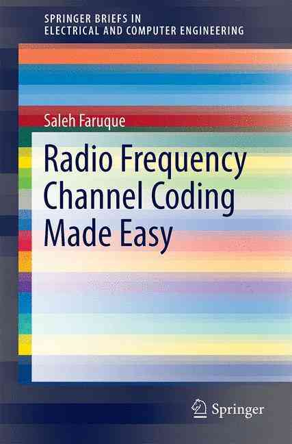Radio Frequency Channel Coding Made Easy (Paperback)
