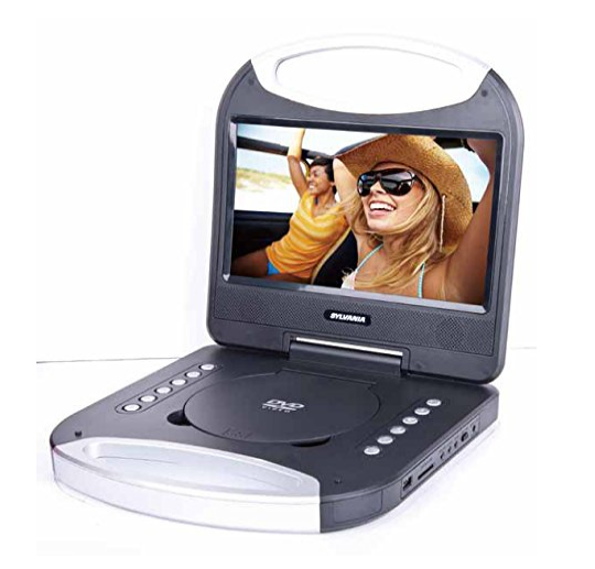 Sylvania 10-Inch Portable DVD Player with Integrated Handle Black SDVD1052-BLACK - Refurbished