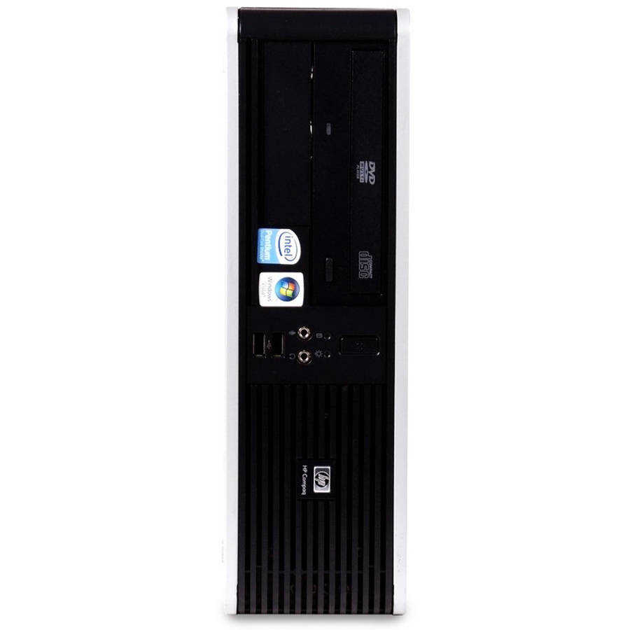 Refurbished HP 5700 SFF Desktop PC with Intel Core 2 Duo Processor, 4GB Memory, 160GB Hard Drive and Windows 10 Home (Monitor Not Included)